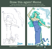 Draw It Again Meme by Heddah