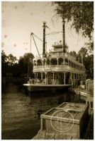 Mark Twain Riverboat by Tsuchan