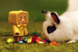 13-52 CTL2013 - Lilly and the Easter Bunny by FeliDae84