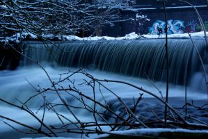 Beautiful Waterfall by Dave490