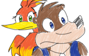 Banjo and Kazooie OLD by Yerapa