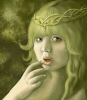 Dryad by e5ther