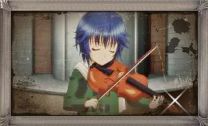 ikuto the little violanist by saadiaASUKA