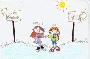 Isa and Nathalie's friendship by delightfuliza