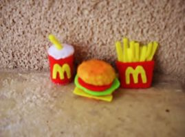McDonald's crafts by slony30