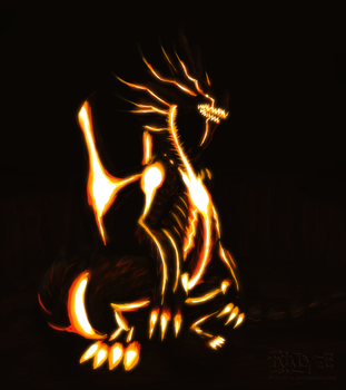 The Black Flame of Calamity by Fatalyze