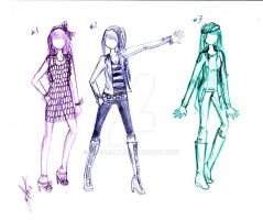 New designs part1 by Rossally