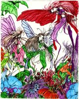 Gathering of Fairies by Lost-Child-Javon