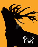 Game of Thrones Baratheon Ours is the Fury by Dragonrose247
