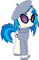 French Vinyl Scratch v3 by cool77778