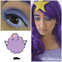 Lumpy Space Princess Makeup by MishMreow