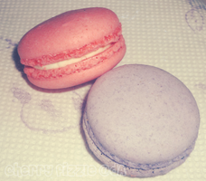 -: Pastel Macarons :- by Cherry-Fizzle