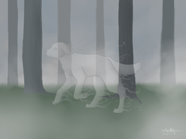 Ghost Dog 2 by InuKii