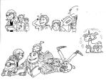 Despicable me Sketches by secondlina