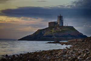 Mumbles Lighthouse 2 by CharmingPhotography