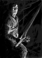 Uther Doul - underdrawing by MallonIllustration