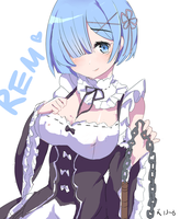 Re:Zero Rem by BerryCakeroll