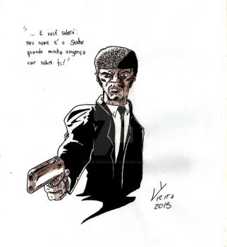 Jules - Pulp Fiction by Ygor-oraculo