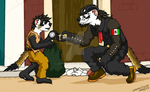 Meanwhile... In Mexico by ArtRock15