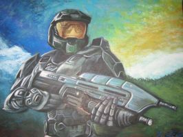 Master Chief by EmilyLaforce