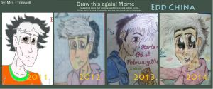 Draw this again! - Meme (Edd China) by MrsCromwell