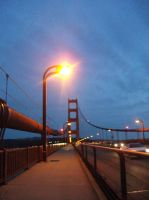 Golden Gate at Twilight by goldenConnpass