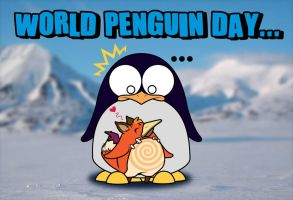 World Penguin Day by talismentV3