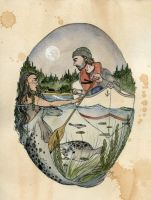 The Selkie and the Sailor by Kitty-Grimm