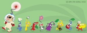 Pikmin in Action by Themrock