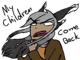 Cygnus Yelling CRAYON by speedcow12