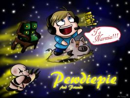 Pewdiepie and friends by Humblehistorian