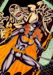 Batgirl Vs Clay Face by gregohq