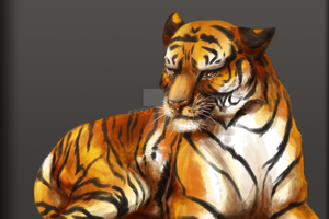 Tiger by Spottedfire-cat