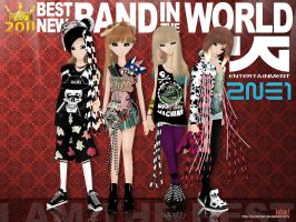 2ne1 - 2011's MTV IGGY BEST NEW BAND IN THE WORLD by pyroKhad