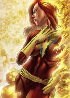 JEAN GREY DOS X-MEN 2 by jdavidlee1979