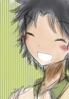 .:Doodle:. Chitose is smiling by v-on