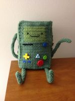 BMO Adventure Time Amigurumi Crochet Plush by IncredibleMath