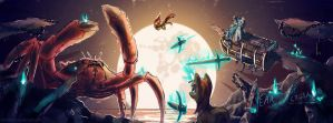 Anniversary Crab Battle by andaerz