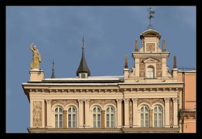 Facade Of One Of The Houses  - Market Square by skarzynscy