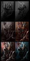 Step by Step - Tay: Throne of Skulls by Digimitsu