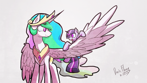 She Was Always Obsessed With Wings by DarkFlame75