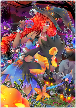 + Happy Halloween + by AngedeCristal