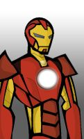 Iron Man Simple by razorface123