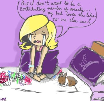 Issues with Laziness by AllThesePiecesOfMe