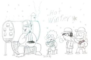 Hot Winter by komi114