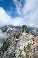 View from the top of mountain Lomnicky Stit by spamikcz