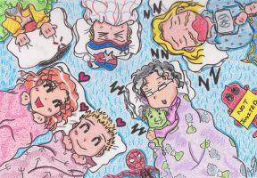 Avengers Assemble Sleepover by KyrieGlows89