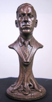 H. P. Lovecraft Bust by JoynerStudio