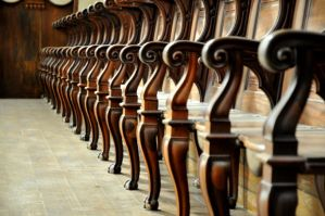 Choir stalls... by JACAC