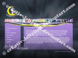 TnD Homepage Layout by JellyfishCosplay
